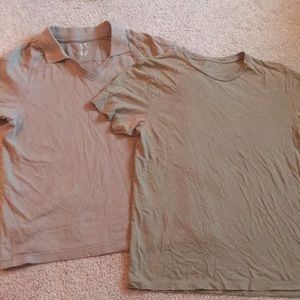 2 Armani exchange short sleeve shirts!!